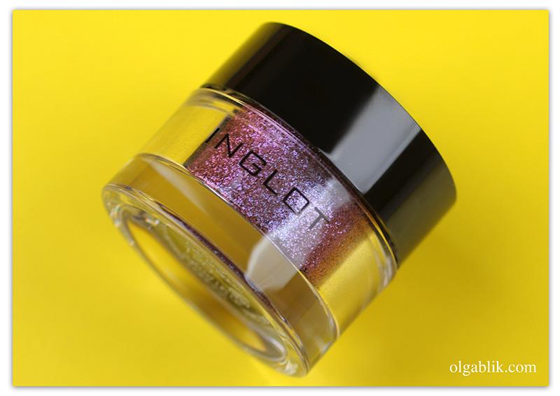 inglot-amc-pure-pigment-eye-shadow 86, Пигменты Инглот, Отзывы, Фото, Свотчи