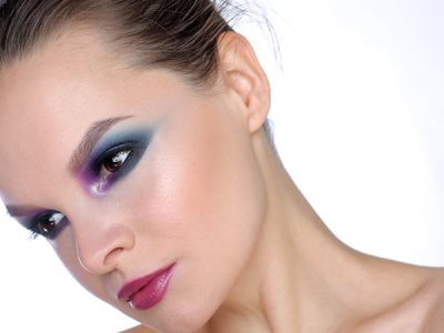 Макияж с Natasha Denona Purple-Blue Eyeshadow Palette 28