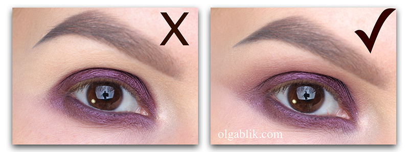 smudged-eyeshadow-1, растушевка теней, Фото, Техника