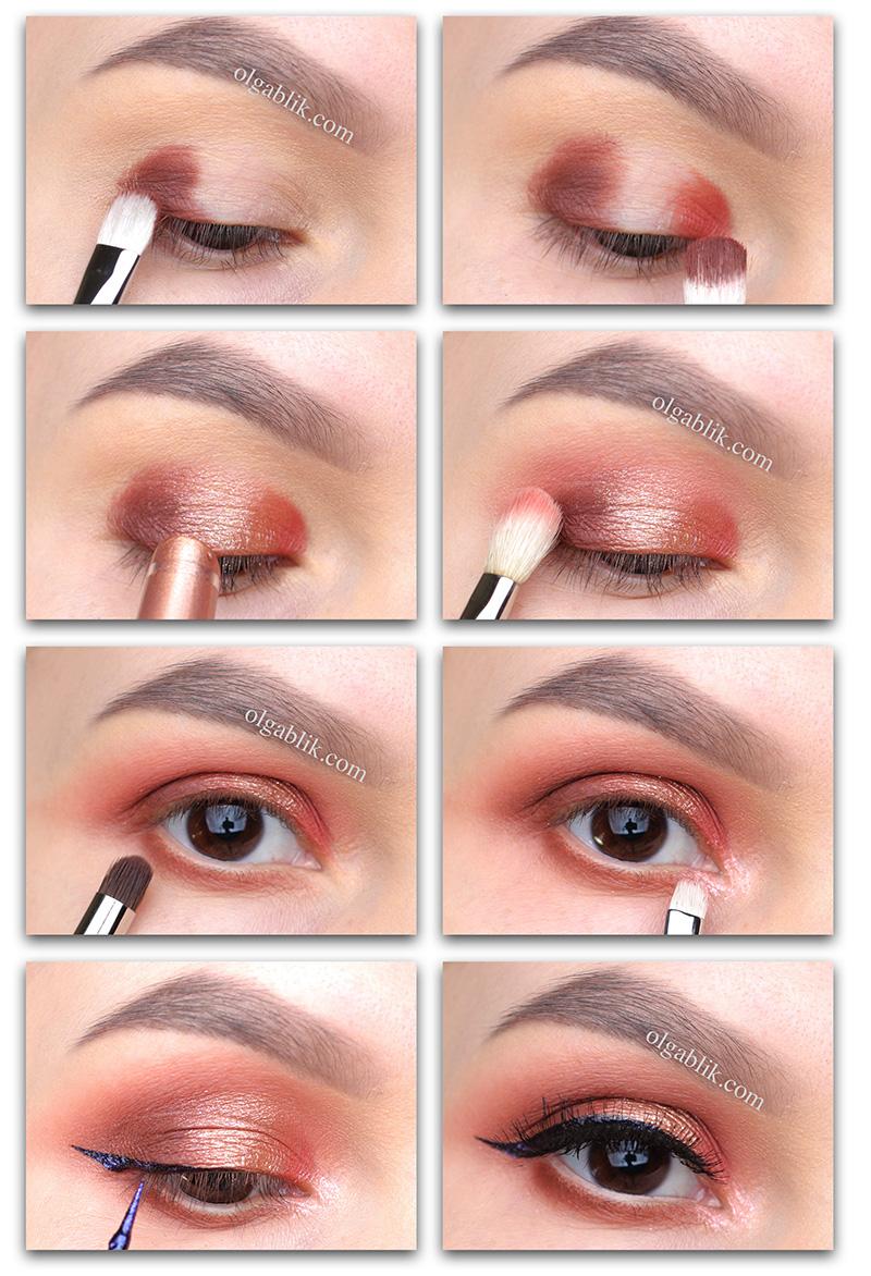 Как сделать сияющий макияж глаз