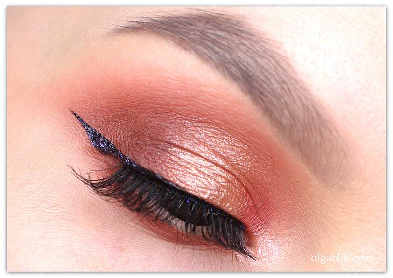 holika-holika-waterdrop-sparclick-shadow-makeup, Мерцающие тени для век, Фото, Макияж