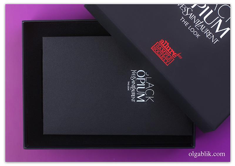 allurebox-black-opium-yves-saint-laurent, отзывы, фото, бьюти блоггер