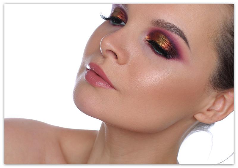 макияж с пигментами Тамми Танука