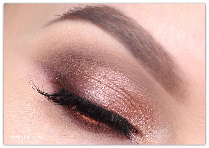 макияж глаз коричневым карандашом