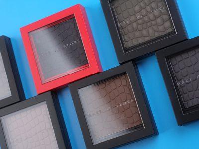 Матовые тени для век: Make Up Store Microshadow