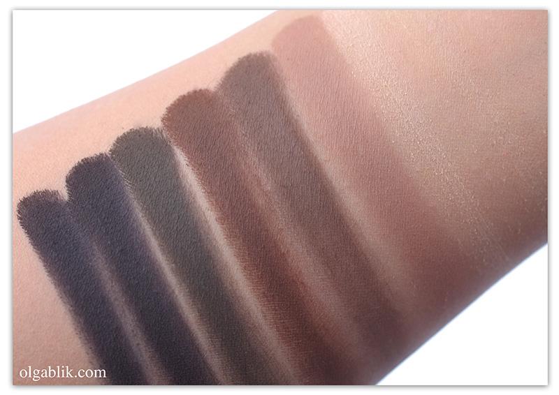 матовые тени для век Make Up Store