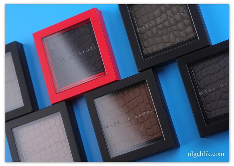 Матовые тени для век Make Up Store Microshadow