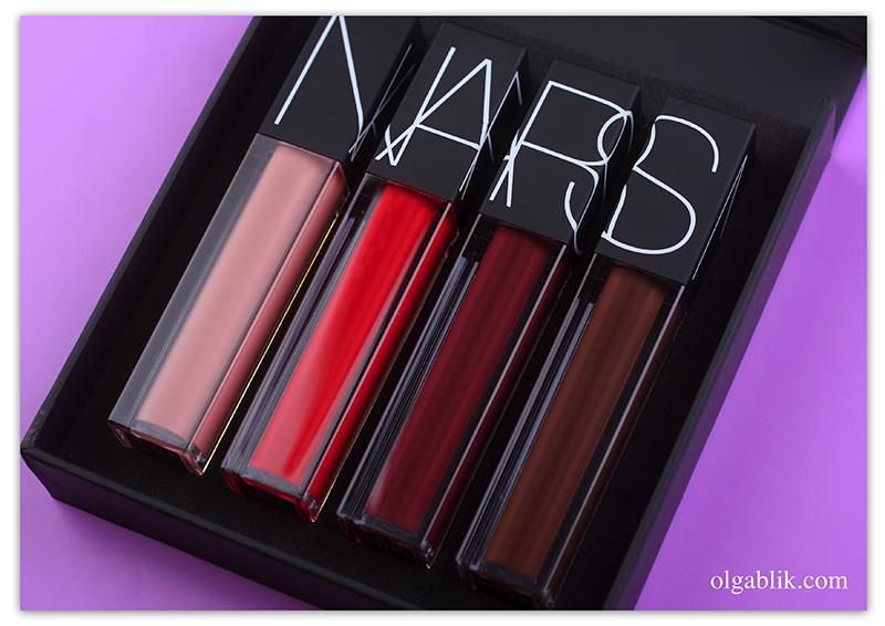 nars-velvet-lip-glide, отзывы, фото, бьюти блоггер