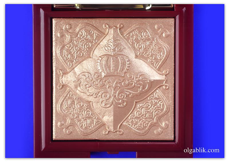 pupa-red-queen-highlighter-001-magnificent-gold, Рождество Пупа, отзывы, фото