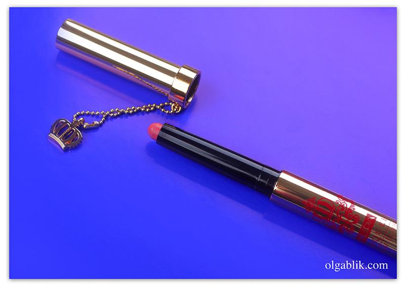 pupa-red-queen-luminous-lip-balm-elixir, Рождество Пупа, отзывы, фото