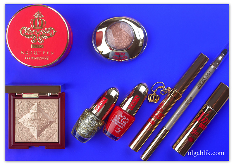 Pupa Red Queen Collection Holiday Christmas 2016