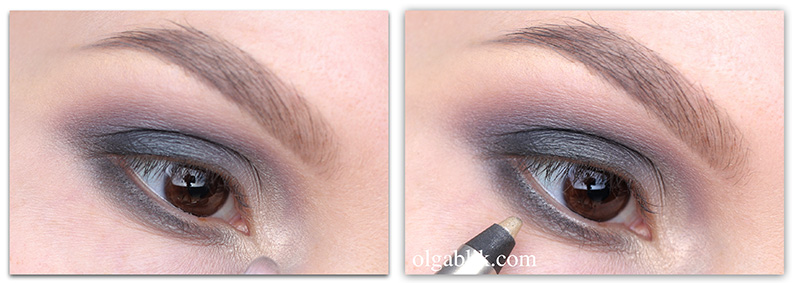Повседневный  макияж для карих глаз