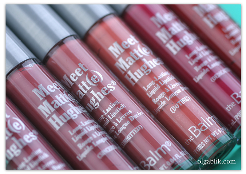 The Balm Meet Matt(e) Hughes Mini Long-Lasting Liquid Lipstick Set