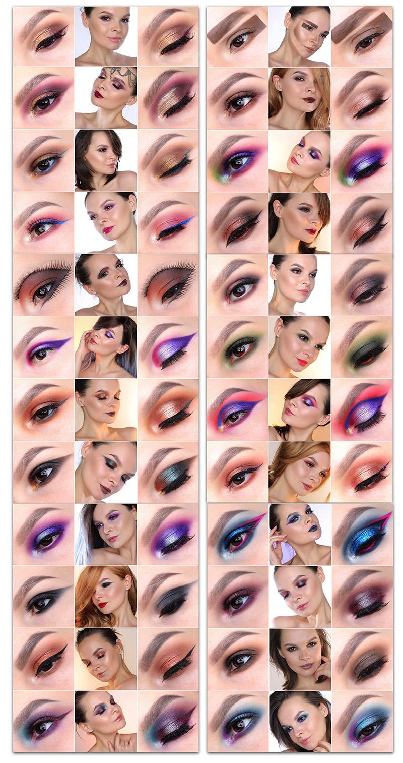 #100daysofmakeup, 100 дней с макияжем, фото, макияж глаз