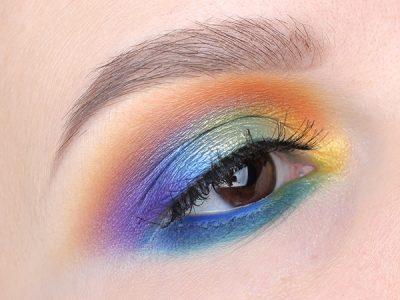 Цветной макияж глаз: жизненная Радуга!