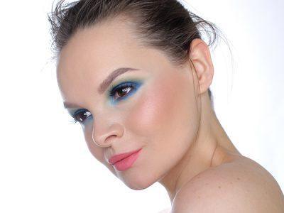 Синие Smoky eyes: пошаговый макияж глаз