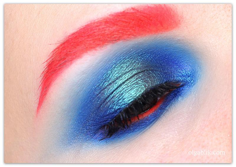 Контрастные Смоки Айс, макияж глаз, фото, smoky eyes