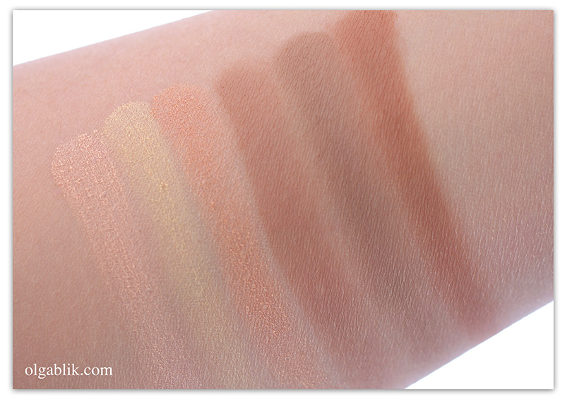AC ON TOUR Powder Contouring and Highlighting Palette, Отзывы, Фото, Review
