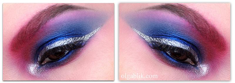 Make Up For Ever Star Powder # 19 Ultramarine Makeup Look