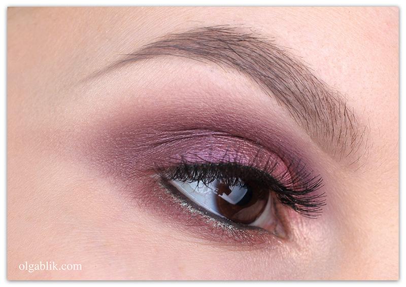 Makeup Look Natasha Denona Eyeshadow Palette 28 Purple Blue