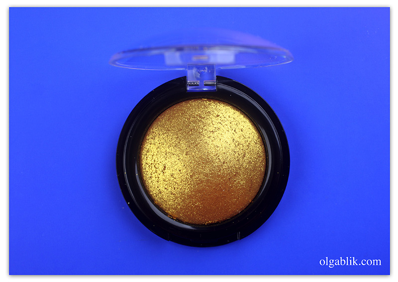 PAT McGRATH LABS Metalmorphosis 005 Gold 001 pigment, Photo, Review, Pigment
