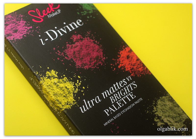 Sleek I Divine Ultra Mattes V1 Brights Eyeshadow Palette - отзывы и фото