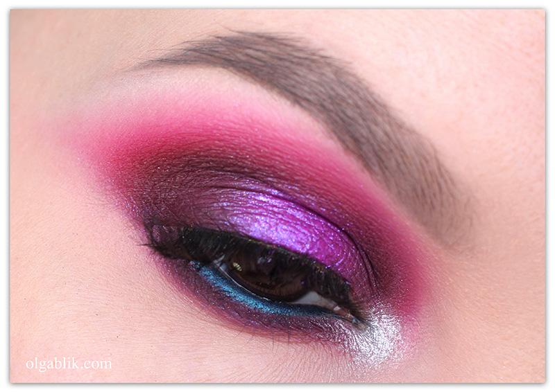 Soft Pink Makeup Look, макияж с розовыми тенями, розовый макияж для карих глаз, фото