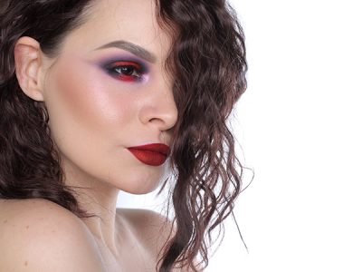 Red Smoky Eye Makeup Look: помада вместо…