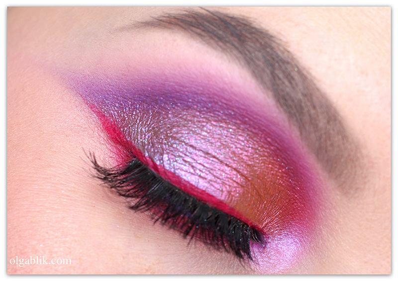 Urban Decay Moondust Palette Makeup Look, Макияж, Отзывы, Фото