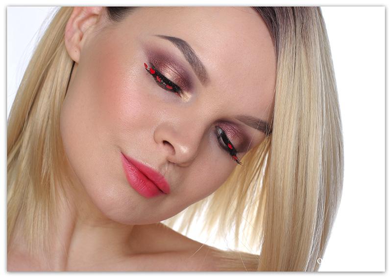 Как сделать макияж на 14 февраля пошагово