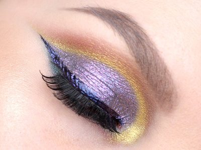 Colour Pop Super Shock Shadow Makeup Look