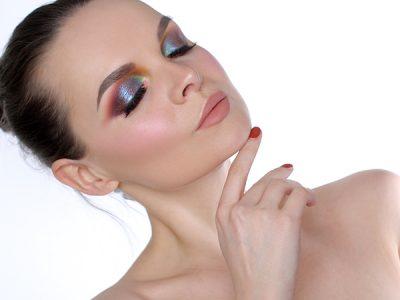 Цветной макияж с возможностью контроля