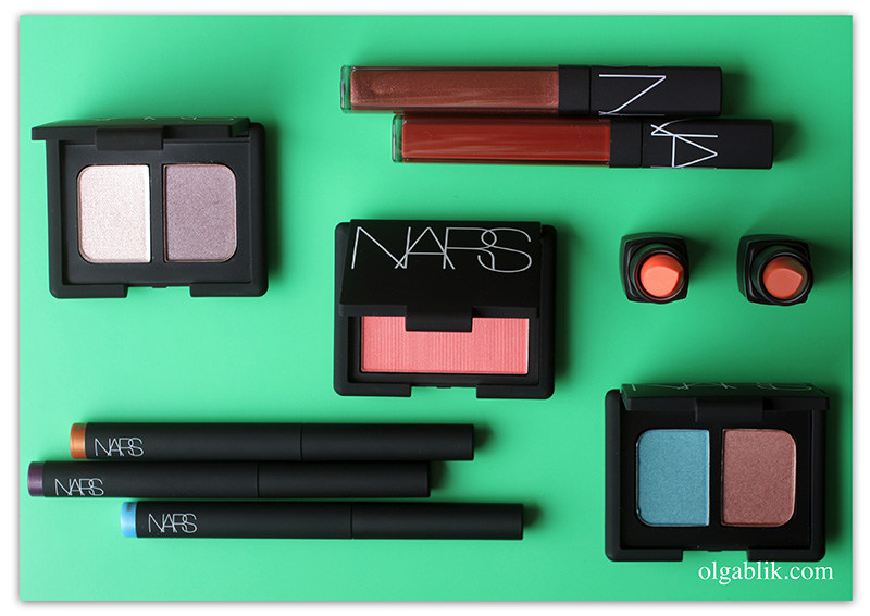 NARS Wildfire Spring 2017 Makeup Collection, отзывы, фото, Нарс косметика