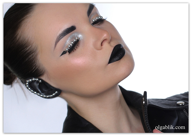 Rock n Roll Makeup Look, Макияж рок-н-ролл, Фото