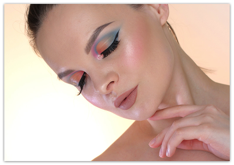 Holika Holika Piece Matching Shadow Makeup Tutorial, Тени Холика, Фото, Отзывы