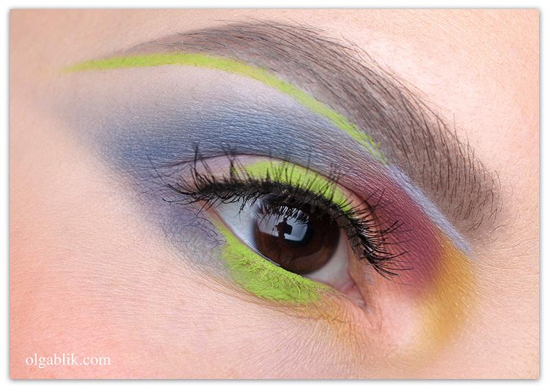 Как использовать цветные карандаши для глаз