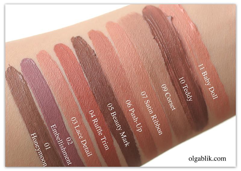 NYX Lip Lingerie Liquid Lipstick, Жидкая матовая помада Никс, Отзывы, Фото
