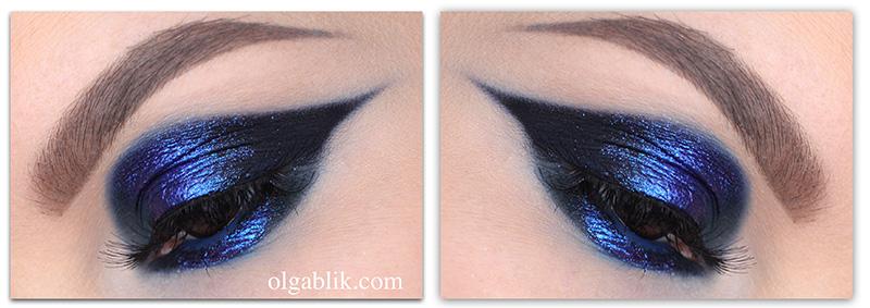 Вечерний макияж с тенями Tammy Tanuka