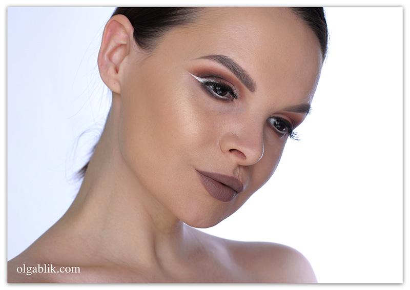NYX Lip Lingerie Liquid Lipstick 02 Embellishment, Жидкая матовая помада Никс, Отзывы, Фото