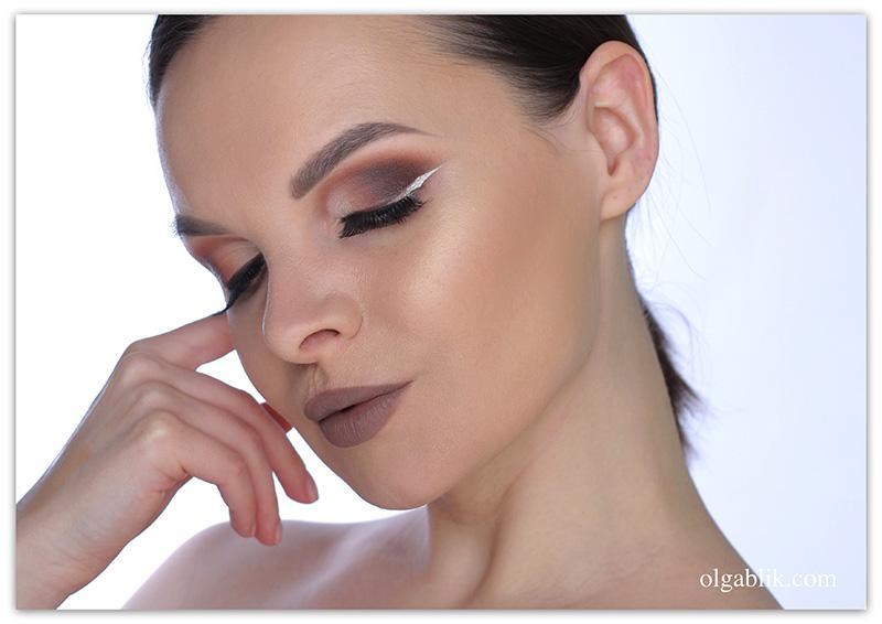 Tarte Tarteist PRO Amazonian clay palette Makeup Tutorial, Дневной пошаговый макияж, фото