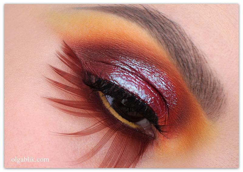 fish makeup idea, Креативный макияж глаз, фото