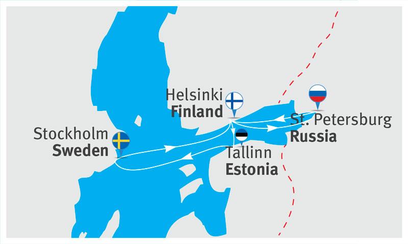 Карта Таллин