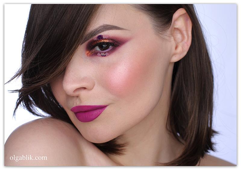 Wycon Cosmetics Liquid Lipstick 12 Viola Orchidea, отзывы, фото, помада
