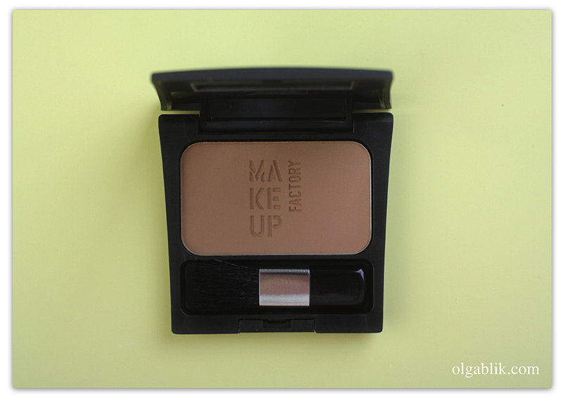 Пудра для скульптурирования Make up factory Mat Blusher MAT BY NATURE, отзывы, фото