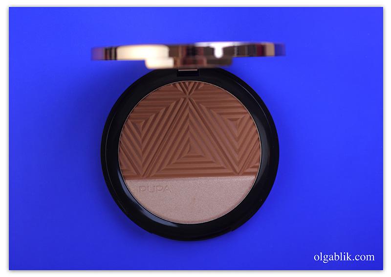 PUPA Savanna Bronze & Highlighter 001 Golden Sand, Отзывы, Фото