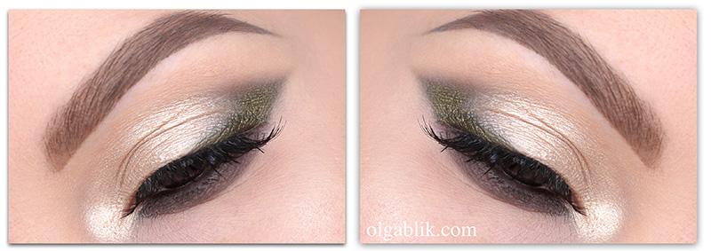 Как нарисовать стрелки зеленым карандашом для глаз