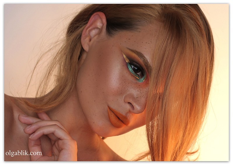 макияж в египетском стиле