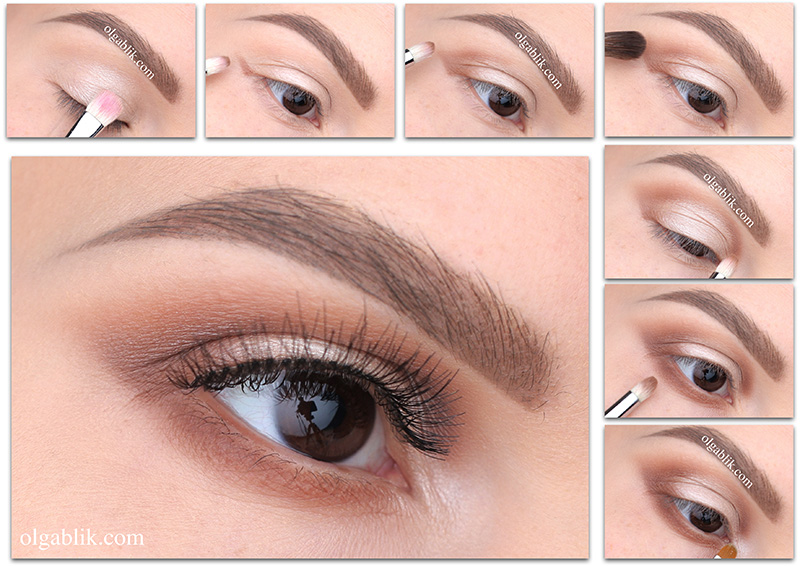 Smokey eyes- Smudged Cat Eye Makeup Tutorial, Смоки айс, Растушевка теней к виску, фото
