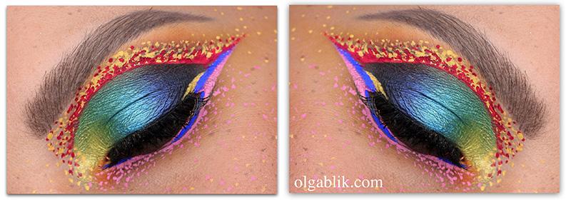 Летний макияж для карих глаз пошагово фото