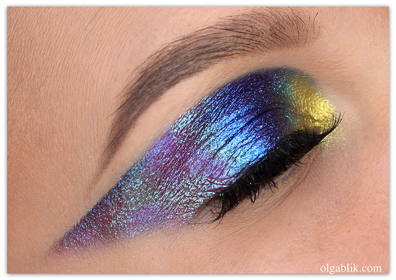 Holographic Makeup, Голографический макияж, фото